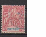 miniature MARTINIQUE         N°  45   OBLITERE             ( 09/15 )
