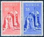 miniature NORVEGE  _  Y & T   :    N°  367-368  **    -   Cote  :   1,25   €