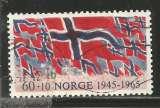 miniature Norvège 1965 - YT n° 483 - anniversaire de la libération