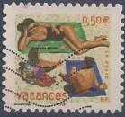 miniature FRANCE 2003 : yt 35 Oblitéré/Used # Vacances