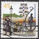 miniature A135 - Y&T n° 2182 - oblitéré - Le marché de Munich - 2003 - Allemagne