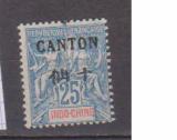 miniature CANTON           N° YVERT  25          NEUF AVEC CHARNIERES