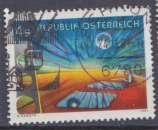 miniature Autriche 1981 YT 1516 Obl Art moderne Oscar Asboth
