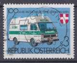 miniature Autriche 1981 YT 1523 Obl Service de secours Ambulance