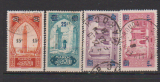 miniature MAROC       N° YVERT    124/127    OBLITERE    (12/15)