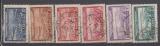 miniature MAROC       N° YVERT    PA   34/39  OBLITERE    (12/15)