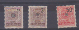 miniature MAROC         N° YVERT   TAXE 46/48  NEUF SANS CHARNIERE   (12/15)