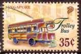 miniature Singapour 1997 YT 802 MNH Transport Trolley bus