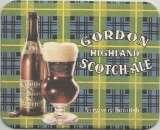 Sous bock - Grande Bretagne - Brasserie John Martin - Bière Gordon Highland Scotch Ale - Neuf