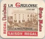 Sous bock - Belgique - Brasserie du Bocq - Bière La Gauloise - Neuf