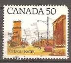 miniature Canada 1978 YT 668 Obl Architecture ville des prairies