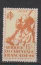 miniature A O F       N ° 21   OBLITERE      (02/16 )