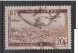 miniature ALGERIE     N ° PA 4       OBLITERE      (02/16 )