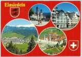 miniature Cpsm Suisse - Einsiedeln , multivues , écrite et timbrée 1978