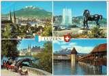 miniature Cpsm Suisse - Luzern , multivues , non écrite