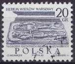 miniature POLOGNE 1965 OBLITERE N° 1451