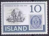 ISLANDE 1973 NEUF** MNH N° 426 Centenaire du premier timbre islandais