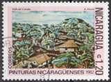 miniature C102 - Y&T n° 1225 - oblitéré - Vallée de Canales par Mejias - 1982 - Nicaragua