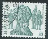 miniature Suisse - Y&T 1033 (o) - Coutumes populaires -