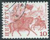 miniature Suisse - Y&T 1034 (o) - Coutumes populaires -