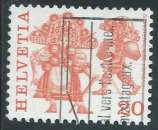 miniature Suisse - Y&T 1035 (o) - Coutumes populaires -