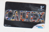 miniature RECHARGE OUTRE MER TELECOM  REUNION    CALTEX   5 €  80 unités