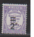miniature ALGERIE             N°  TAXE  24  NEUF AVEC CHARNIERES      (08/16 )