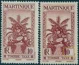 miniature France  Martinique Y&T taxe 13**- MNH (variété)