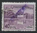 Pakistan - 1963-70 - Y & T n° 186 - Jardins de Shalimar à Lahore - O.