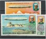 MADAGASCAR n° 580-581-582 oblitérés