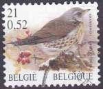 BELGIQUE 2001 OBLITERE N° 2982 Oiseaux