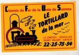 miniature Auto-collant Le Tortillard de la Mer Chemin de Fer de la Baie de Somme