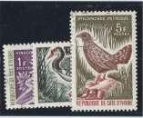 miniature COTE D'IVOIRE n° 249-250-251 oblitérés °