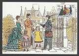 miniature CARTE MAXIMUM DE BELGIQUE - FACTEUR BELGE, 1886 (EXPOSITION BELGICA'82)