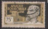miniature A E F           N°  48    ( 1 )    OBLITERE             ( 11/16 )