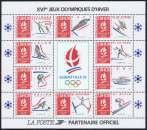 miniature France 1992 - Bloc feuillet 14 MNH (à la faciale)