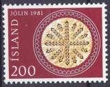ISLANDE 1981 NEUF** MNH N° 527 Noël