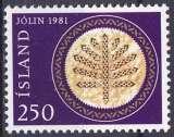 ISLANDE 1981 NEUF** MNH N° 528 Noël