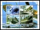miniature Bloc Feuillet Neuf ** MNH - Congo 1997 - Bateaux Boats
