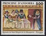 miniature Andorre N° 384 ** retable Saint Michel