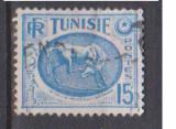 miniature TUNISIE                      N°  344 A      ( 2 )       OBLITERE             ( 11/16 )