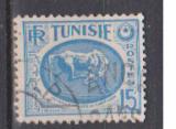 miniature TUNISIE                      N°  344 A      ( 3 )       OBLITERE             ( 11/16 )