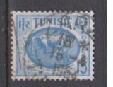 miniature TUNISIE                      N°  344 A      ( 4 )       OBLITERE             ( 11/16 )