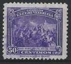 Venezuela - 1940-41 - Y & T n° 236 - 110è an. de la mort de Bolivar - Révolte de 1812 à Caracas - O.