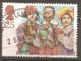 miniature Grande Bretagne 1994 YT 1785 Obl Noel Rois Mages