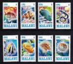 miniature Série de timbres neufs ** MNH - Malawi 2013 - Poissons exotiques Exotic fishes