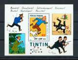 miniature FRANCE bloc feuillet BF  28 tintin 1/4 de cote neuf ** TB MNH sin charnela cote 2.75