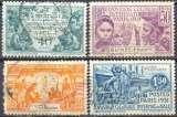 miniature Guinée française 115 à 118 oblitérés
