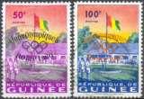 miniature Guinée 39 et 40 oblitérés