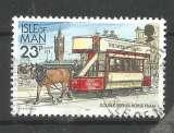 Ile de Man 1992- YT n° 525 - Tramway à cheval à impériale